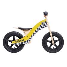 Bici Bambino Legno Rebel Kidz 12 Wood Air Giallo