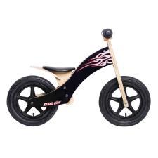 Bici Bambino Legno Rebel Kidz 12 Wood Air Nero
