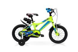 Bici Bambino SpeedCross Rocket 12 1V Giallo Fluo Blu