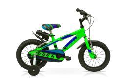 Bici Bambino SpeedCross Shark 16 1V Verde Fluo
