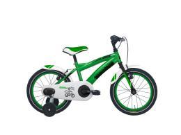 Bici Bimbo Cicli Adriatica Boys Kids 16 Verde