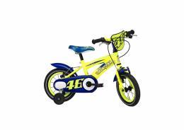 Bici Bimbo Cicli Adriatica VR46 12 Giallo Fluo