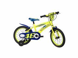 Bici Bimbo Cicli Adriatica VR46 16 Giallo Fluo