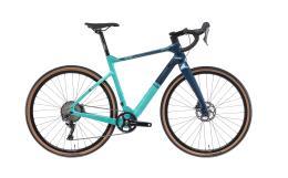 Bici Corsa Bianchi AllRoad Arcadex GRX810 11V CK16 Blu Notes