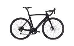 Bici Corsa Bianchi Aria Aero Disc 105 11v Compact Nero Brillante