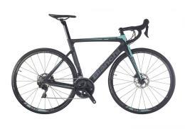 Bici Corsa Bianchi Aria Disc 105 11v Compact Nero Celeste