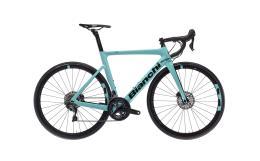 Bici Corsa Bianchi Aria Disc Ultegra 11V Compact Celeste