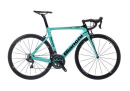 Bici Corsa Bianchi Aria Ultegra 11V Compact Celeste Nero