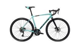 Bici Corsa Bianchi Impulso AllRoad GRX 810 11V Celeste Nero