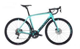 Bici Corsa Bianchi Infinito Cv Disc Ultegra 11V Celeste Nero