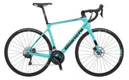 Bici Corsa Bianchi Infinito XE Disc 105 11v Celeste Nero