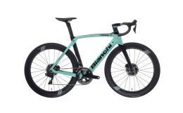 Bici Corsa Bianchi Oltre XR4 Disc Dura Ace 11V Celeste Nero