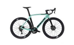Bici Corsa Bianchi Oltre XR4 DIsc Dura Ace 11V Celeste