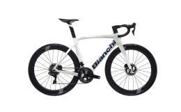 Bici Corsa Bianchi Oltre XR4 Disc Dura Ace DI2 11V Bianco Ghiaccio