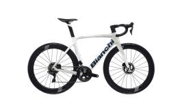 Bici Corsa Bianchi Oltre XR4 Disc Etap AXS 12V Bianco Ghiaccio