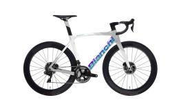 Bici Corsa Bianchi Oltre XR4 Disc Ultegra DI2 11v Bianco Ghiaccio