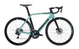 Bici Corsa Bianchi Oltre XR4 Disc Ultegra DI2 11V Celeste