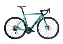 Bici Corsa Elettrica Bianchi Aria E-Road 11V Ultegra DI2 Celeste Bianchi