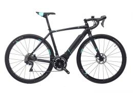 Bici Corsa Elettrica Bianchi Impulso E-AllRoad GRX600 22V Nero Grafite