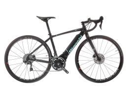 Bici Corsa Elettrica Bianchi Impulso E-Road Ultegra Polini
