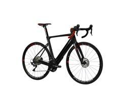 Bici Corsa Elettrica Lombardo Mugello R52 28 22V Nero Opaco