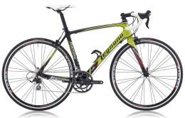 Bici Corsa Legnano LG34 Ultegra Mix 22V Carbon Verde Legnano Rosso