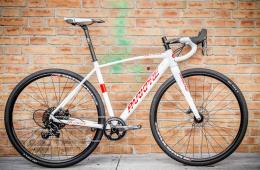 Bici Corsa Parkpre ALCROSS APEX1 Bianco Rosso
