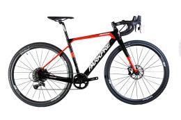 Bici Corsa Parkpre MUD99 APEX1 Nero Rosso