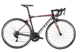Bici Corsa Vektor Athom 105 22V Nero Bianco Rosso