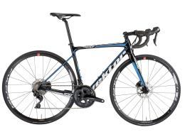 Bici Corsa Vektor Athom Disc 105 22V Nero Bianco