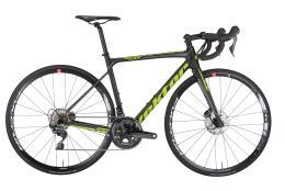 Bici Corsa Vektor Athom Disc 105 22V Nero Lime