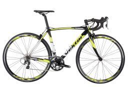 Bici Corsa Vektor Rigel 105 Mix 22V Nero Giallo