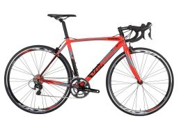 Bici Corsa Vektor Rigel Tiagra Mix 20V Nero Rosso