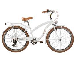 Bici Cruiser Cicli Casadei Beach 26 Donna 7V Alluminio