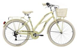 Bici Cruiser Cinzia Moody 26 Donna 6V Avorio Chiaro
