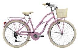 Bici Cruiser Cinzia Moody 26 Donna 6V Rosa Pastello
