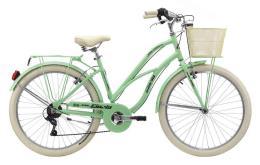 Bici Cruiser Cinzia Moody 26 Donna 6V Verde Chiaro