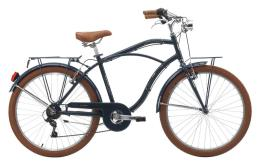 Bici Cruiser Cinzia Moody 26 Uomo 6V Blu Scuro