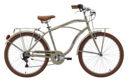 Bici Cruiser Cinzia Moody 26 Uomo 6V Grigio Sabbia