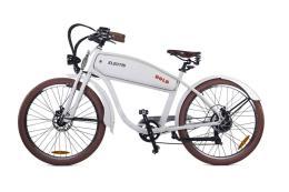 Bici Elettrica Electri Cruiser Bold 26 7V Brushless Bianco Opaco