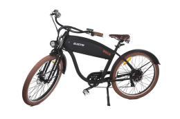 Bici Elettrica Electri Cruiser Bold 26 7V Brushless Nero Opaco