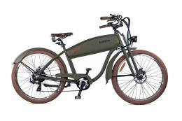 Bici Elettrica Electri Cruiser Bold 26 7V Brushless Verde Opaco