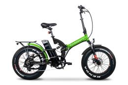 Bici Elettrica Pieghevole Argento BiMax S 20x4.0 Verde