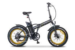 Bici Elettrica Pieghevole Argento Mini Max 20 7V Oro