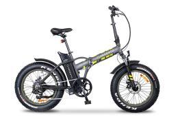 Bici Elettrica Pieghevole Argento Mini Max 20 7V Silver