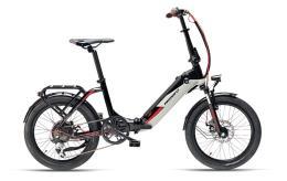 Bici Elettrica Pieghevole Armony Ostuni 20 6V Nero Grigio Betulla
