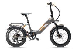 Bici Elettrica Pieghevole Armony Ostuni Boss 20 6V Grigio