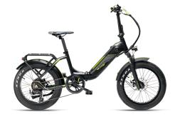 Bici Elettrica Pieghevole Armony Ostuni Boss 20 6V Nero Opaco