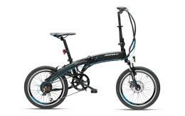 Bici Elettrica Pieghevole Armony Portocervo 20 6V Nero Opaco