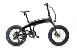 Bici Elettrica Pieghevole Armony Potenza 20 6V Grigio Nero